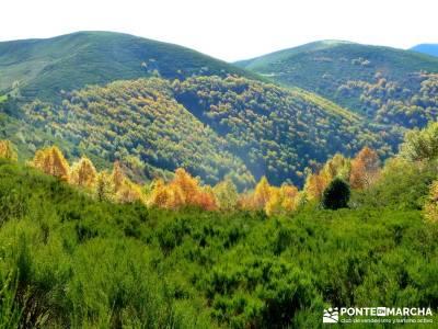 Ancares lucenses; viaje Puente noviembre; pedriza rutas viajes julio